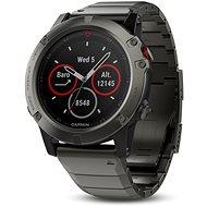 Garmin Fenix ??5X Sapphire, Grey, Metal band - Inteligentné hodinky