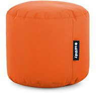 Sakypaky orange pouffe