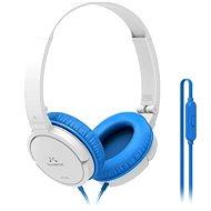 SoundMAGIC P11S bílo-modrá - Sluchátka