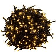 Solight LED venkovní vánoční řetěz, 200 LED, teplá bílá