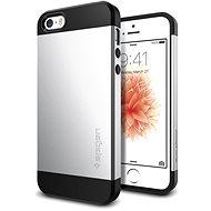 SPIGEN Slim Armor Satin Silver iPhone SE/5s/5 - Ochranný kryt