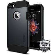 SPIGEN Tough Armor Metal Slate iPhone SE / 5s / 5 - Protective Case