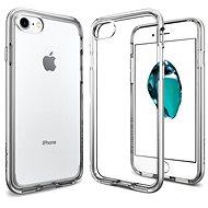 Spigen Neo Hybrid Crystal Satin Silver iPhone 7 - Ochranný kryt