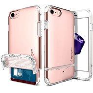 Spigen Flip Armor Rose Gold iPhone 7 - Ochranný kryt