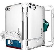Spigen Flip Armor Satin Silver iPhone 7 - Ochranný kryt