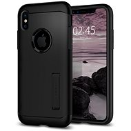 Spigen Slim Armor Black iPhone X - Ochranný kryt
