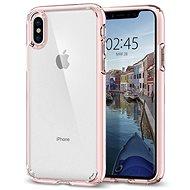 Spigen Ultra Hybrid Rose Crystal iPhone X - Ochranný kryt