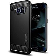 SPIGEN Rugged Armor Black Samsung Galaxy S7 - Ochranný kryt