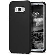 Spigen Liquid Crystal Matte Black Samsung Galaxy S8+ - Ochranný kryt