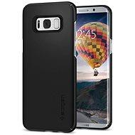 Spigen Thin Fit Black Samsung Galaxy S8 - Ochranný kryt