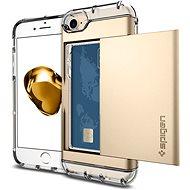 Spigen Crystal Wallet Champagne Gold iPhone 7 - Ochranný kryt