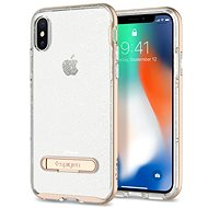 Spigen Crystal Hybrid Glitter Gold iPhone X