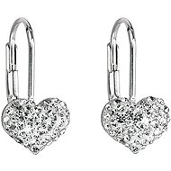 Crystal Earrings Decorated Swarovski Crystals 31125.1 (925/1000; 1.4 g)