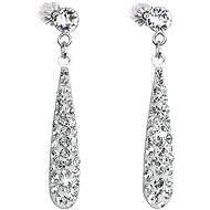 Crystal Earrings Drop Crystal Swarovski Crystals 31163.1 (925/1000, 1.3g)