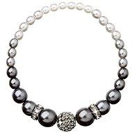 Grey perlový náramek dekorovaný krystaly Swarovski 33062.3 - Náramek
