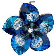 Bermuda blue přívěsek dekorovaný krystaly Swarovski 34072.5 (925/1000; 4,2 g) - Přívěsek