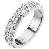 Prsten dekorovaný krystaly Swarovski Krystal 35001.1 (925/1000; 2,5 g) vel. 48 - Prsten