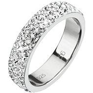 Prsten dekorovaný krystaly Swarovski Krystal 35001.1 (925/1000; 2,7 g) vel. 52 - Prsten