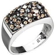 Prsten dekorovaný krystaly Swarovski Colorado (925/1000; 4,6 g) vel. 54 - Prsten