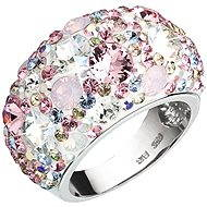 Ring verziert Swarovski Magie 35.028,3 Rose. (925/1000; 10,3 g) Größe 54 - Ring