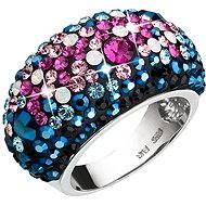 Prsten dekorovaný krystaly Swarovski Galaxy 35028.4 (925/1000; 9 g) vel. 58