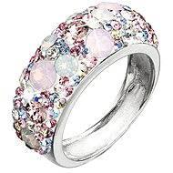 Ring verziert Swarovski Magie 35.031,3 Rose. (925/1000; 4,1 g) Größe 52 - Ring