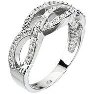 Prsten dekorovaný krystaly Swarovski Krystal 35039.1 (925/1000; 3,9 g) vel. 52 - Prsten