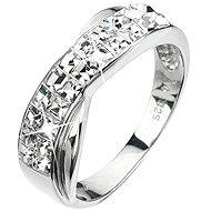 Ring verziert Swarovski Kristall 35.040,1 (925/1000; 3,2 g) Größe 56. - Ring