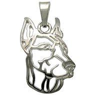 Silver Paws Doberman I. (925/1000; 1,42 g) - Prívesok
