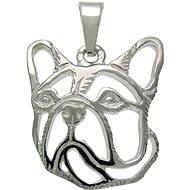Silver Paws French Bulldog (925/1000, 2.20 g)