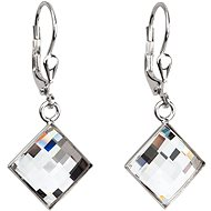 Crystal Earrings Decorated Swarovski crystals 31158.1 (925/1000; 3.4 g)