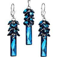 Swarovski Elements Bermuda blue 39124.5 (925/1000; 14,6 g)