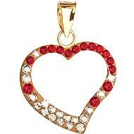 Siam Au gold pendant Made with Swarovski® crystals 34093.3