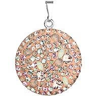 Vintage peach pendant Made with Swarovski® crystals 34131.3