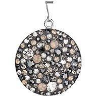 Silver Night pendant made with Swarovski® crystals 34131.5