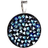 Bermuda blue pendant Made with Swarovski® crystals 34177.5