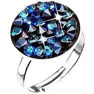 Bermuda blue prsteň vyrobený s kryštálmi Swarovski ® 35033.5