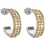 Ohrringe aus Gold gemacht mit Swarovski® Kristallen 31.119,5