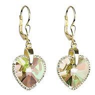 Luminous Grün Au Ohrringe gemacht mit Swarovski® Kristallen 31.148,6