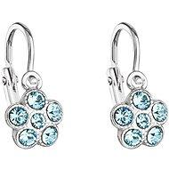 Aqua Baby Ohrringe gemacht mit Swarovski® Kristallen 31.197,3