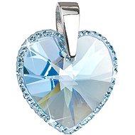 Aqua přívěsek vyrobený s krystaly Swarovski® 34137.3