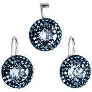 Metallic Blau Satz gebildet mit Swarovski-Kristallen 39.106,5