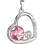 Rose přívěsek vyrobený s krystaly Swarovski® 34162.3