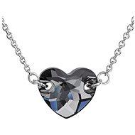 EVOLUTION GROUP 32020.5 silver night náhrdelník dekorovaný krystaly Swarovski