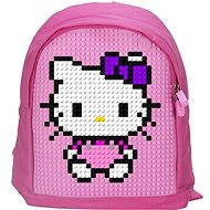Pixelový batoh 12 ružový
