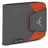 Osprey Quick Lock Mappe, Mohn Orange - Brieftasche
