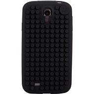 Pixelové pouzdro na Samsung S4 černé