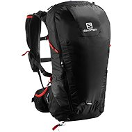 Salomon Peak 30 black/bright red