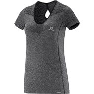 Salomon Elevate SS Seamless TEE W Black L