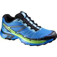 Salomon Wings PRO 2 Bright blue / black / tonic gree 9.5